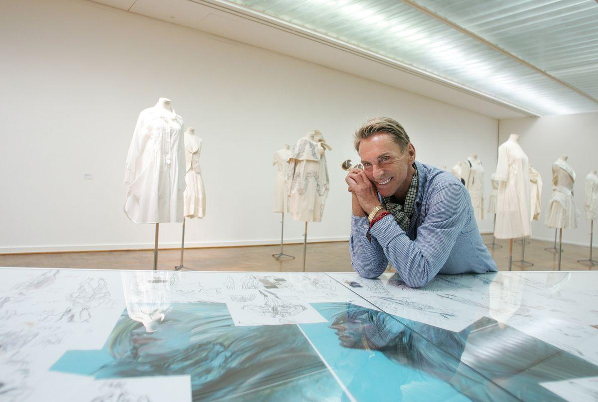 2009: Wolfgang Joops Arbeiten verwandeln die Rostocker Kunsthalle in ein großes Atelier (ddp images).