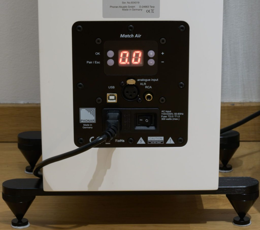 Phonar Match Air Modul mit Bedienfeld für Klang Presets