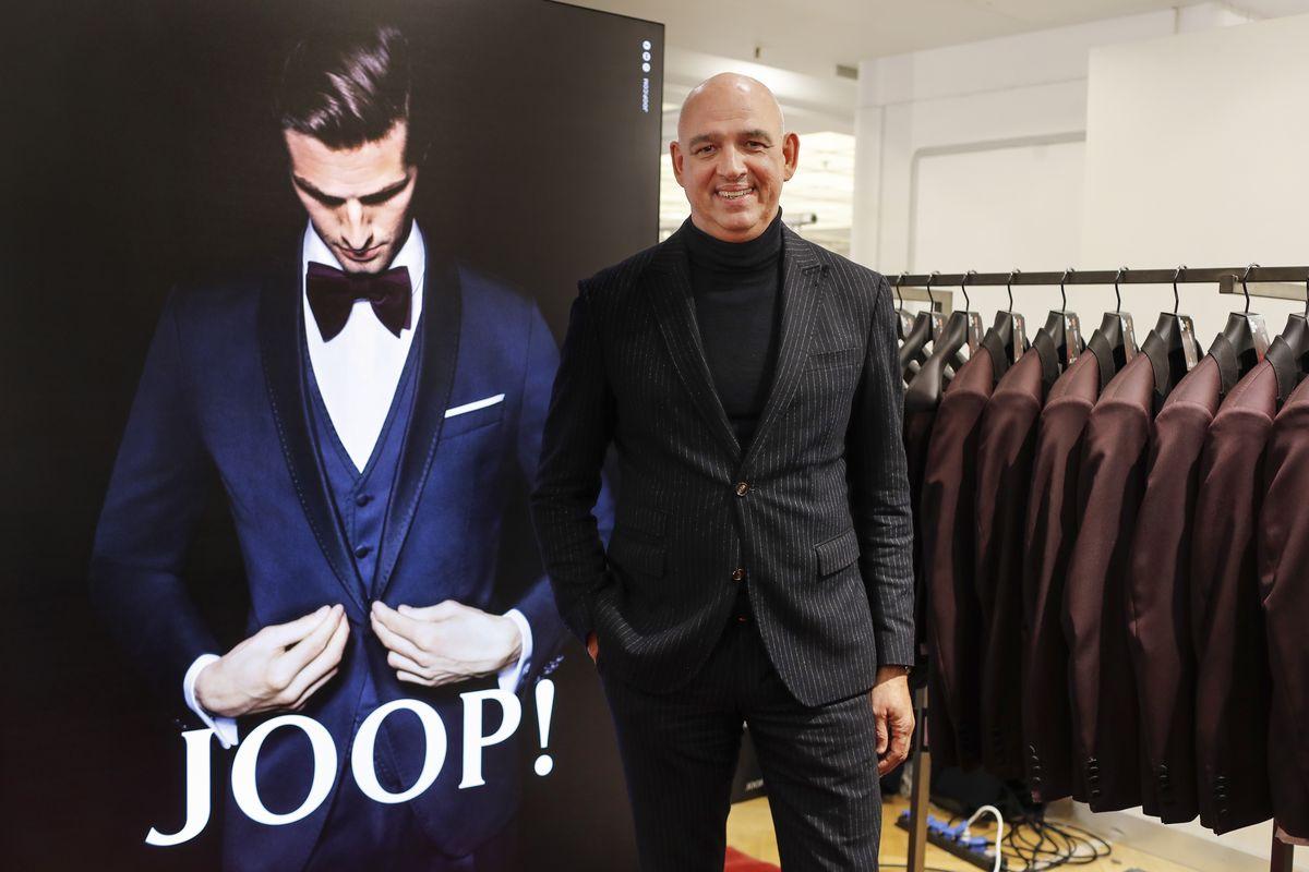 Thorsten Stiebing, Managing Brand Director von Joop