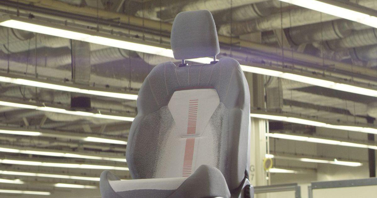 Ford entwickelt gestrickte 3D-Autositzbezüge