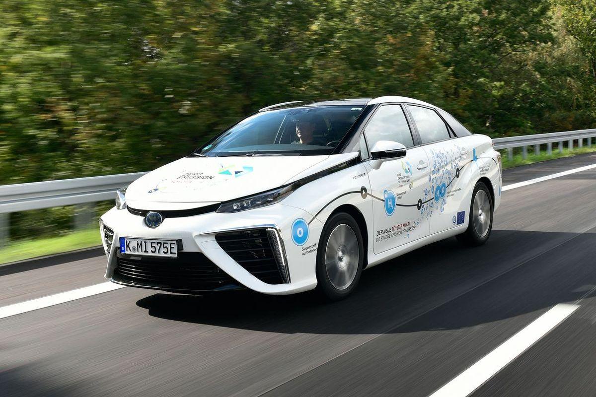 "Toyota Mirai bei ""Zero Emission to Frankfurt"""