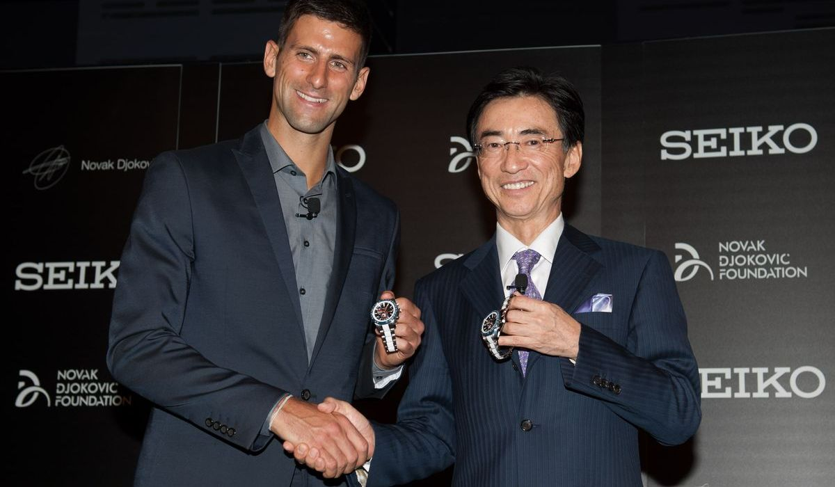 Tennis-Star Novak Djokovic mag Seiko