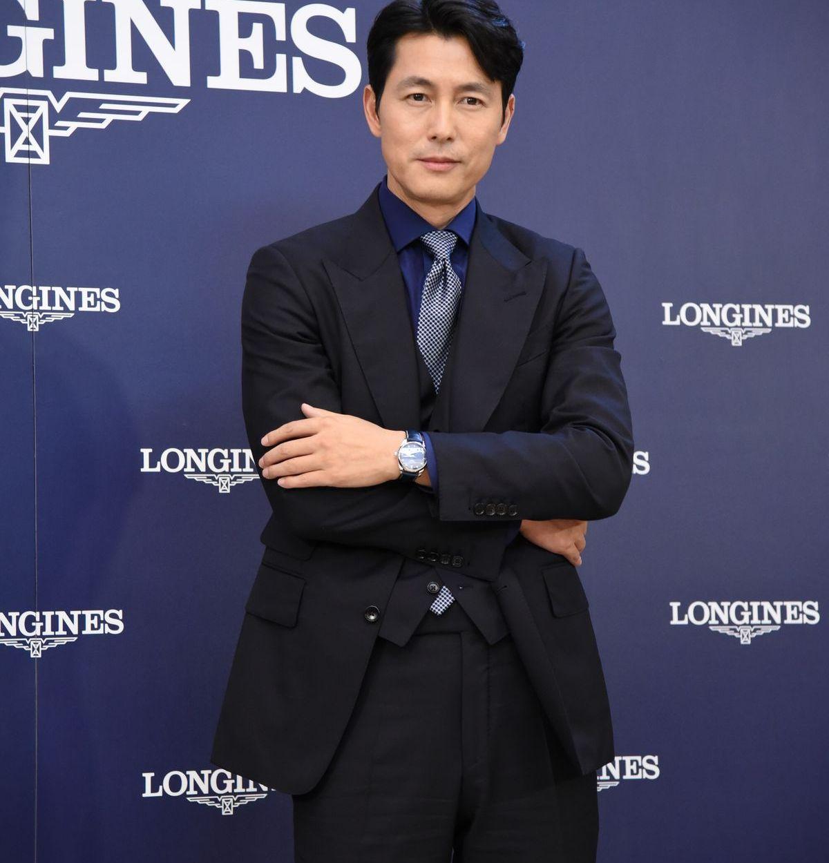Schauspieler Jung Woo-sung steht auf Longines