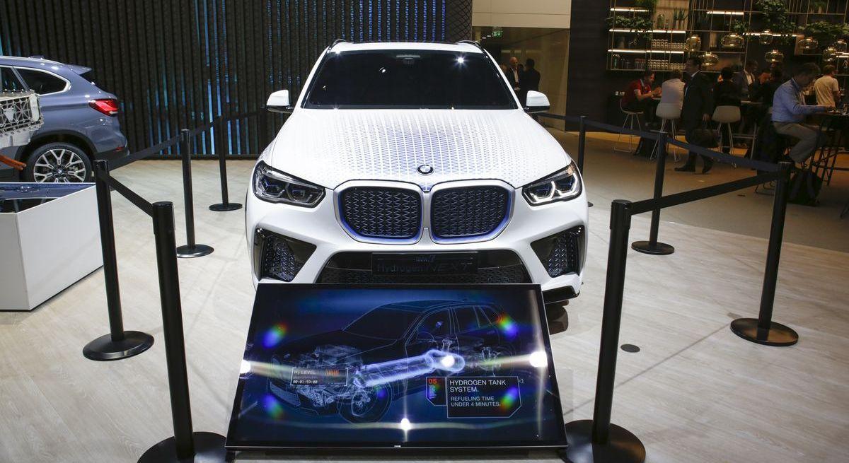 BMW stellte das Hydrogen Next Concept bei der letzten IAA aus.