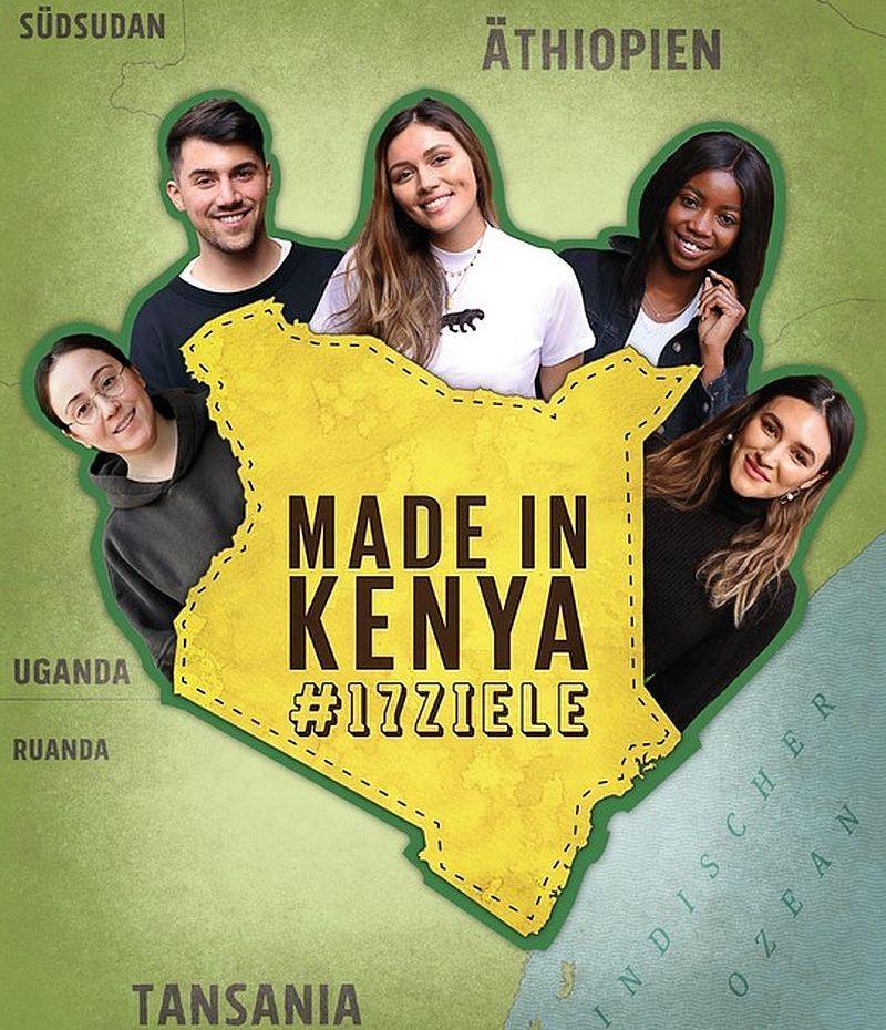 Influencer reisen nach Afrika