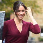 Die Herzogin von Sussex trägt Röcke von Boss