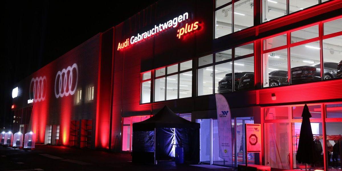 Auto Wichert, Audi Terminal