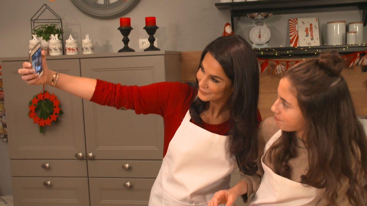 Mariella Ahrens mit Tochter Lucia