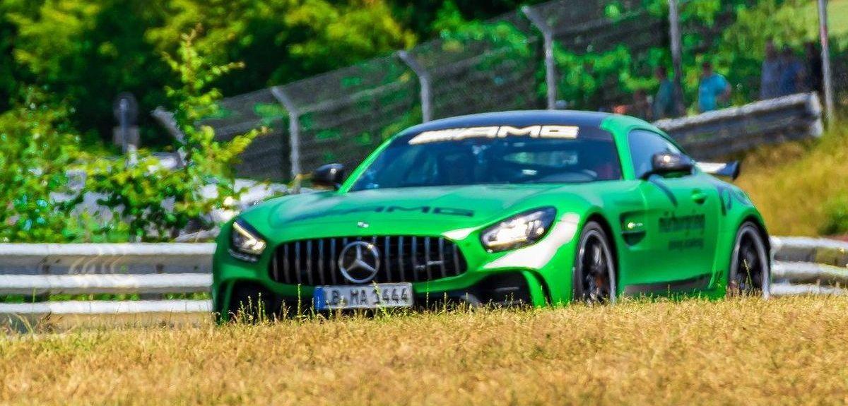 Mercedes-AMG auf dem Nürburgring