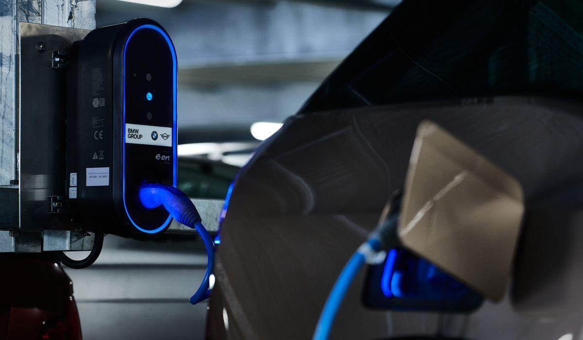 E-Ladestation von BMW