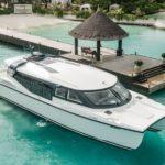 Luxus-Katamarane auf den Malediven