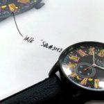 Stylishe Uhr für edle Punk-Rocker