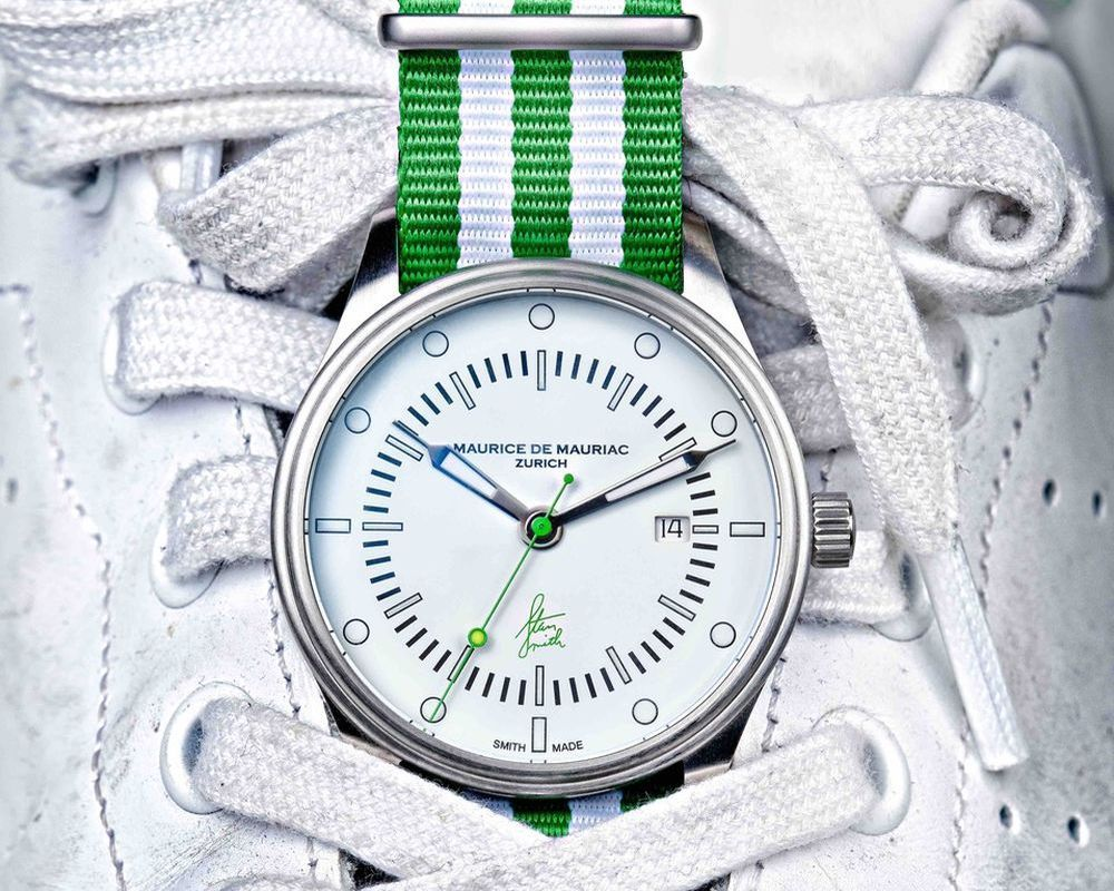 Maurice de Mauriac: Stan Smith Signature Watch