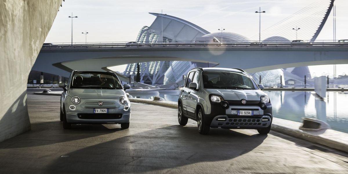 Fiat 500 Hybrid Launch Edition, Fiat Panda Hybrid Launch Edition