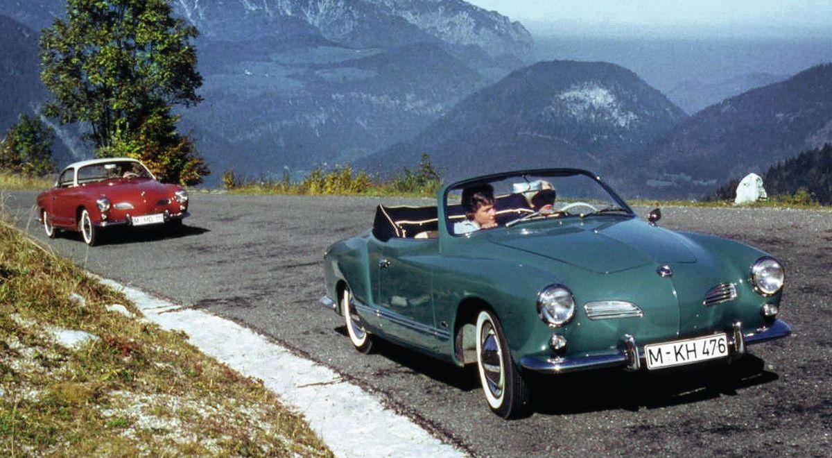 Zwei Jahre nach dem Coupé rollte ab November 1957 der VW Karmann Ghia Typ 14 auch als Cabriolet vom Band.