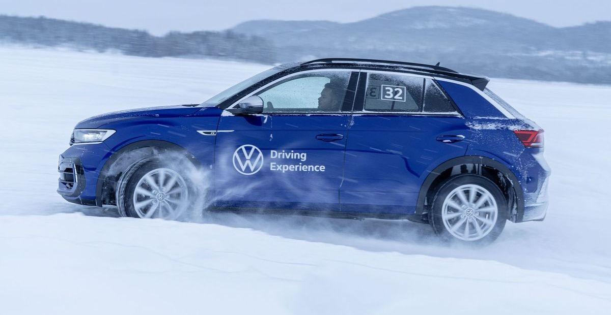 """VW T Roc bei der """"R Ice Experience"""""""