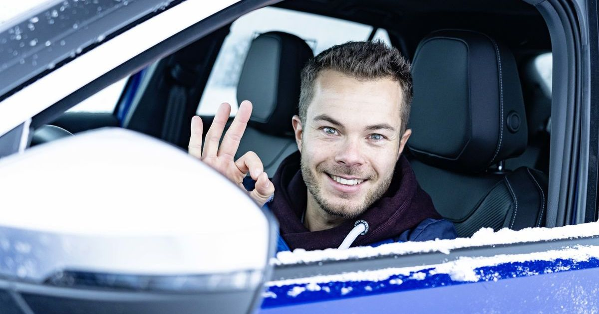 Profi-Rennfahrer Benjamin Leuchter im VW T-Roc R