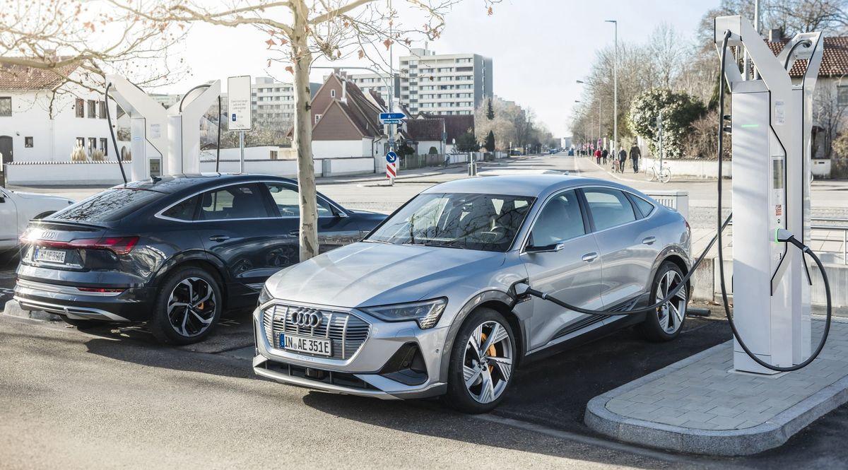 Ladesäule von Audi