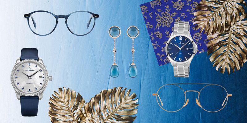"Luxus-Accessoires in der Trendfarbe ""Classic Blue"""