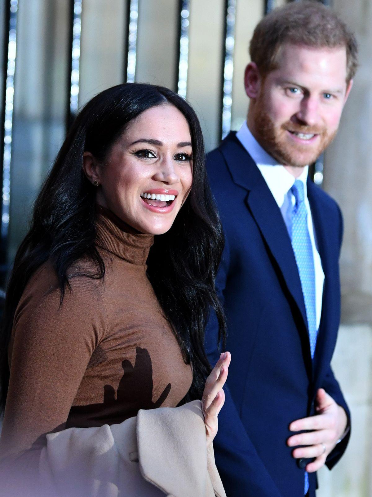 Prinz Harry und Ehefrau Meghan (ddp images)