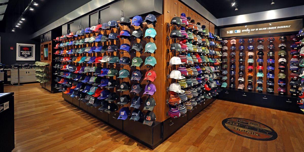 New Era Store in Buffalo, NY (Foto: Sara Schmidle).