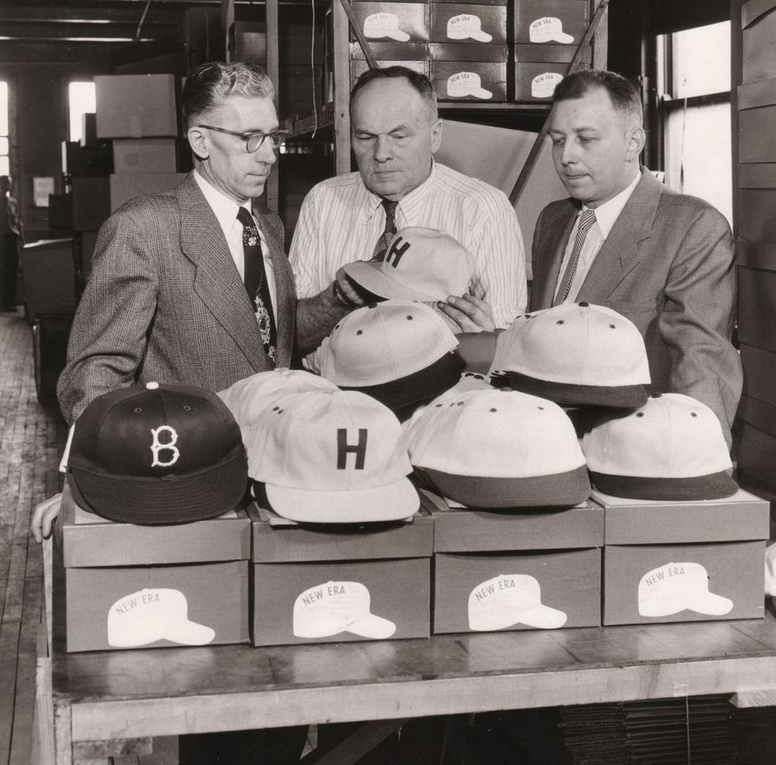 New Era in den 1950er Jahren in Buffalo, NY (Foto: New Era).