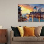 Bilder mit Städten: Perfekte Idee für die Dekoration der Wohnung eines Reiselustigen