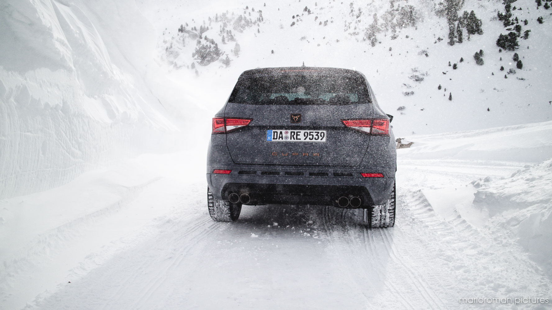 Cupra Winterdrive in Davos