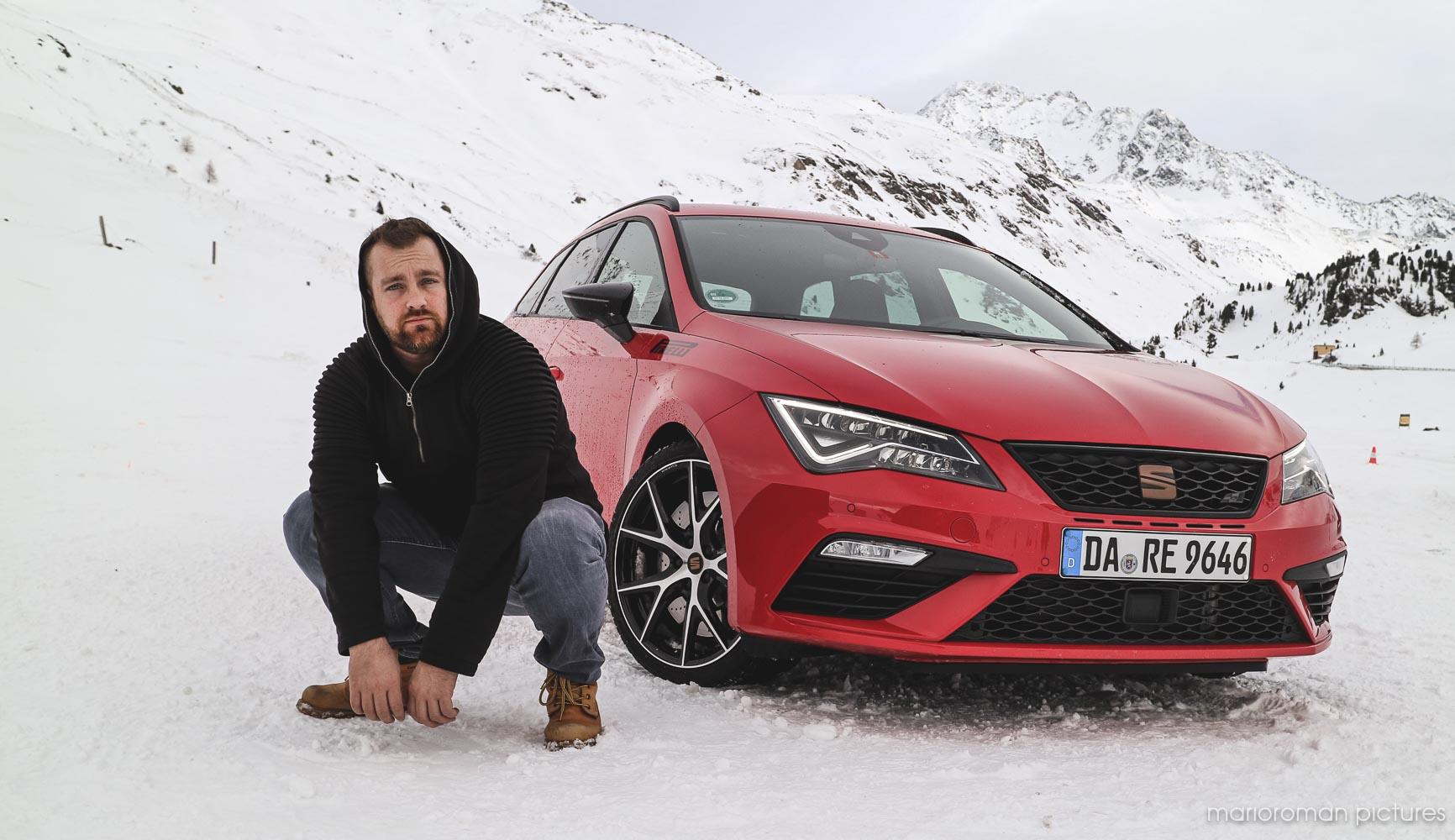 Autor und Fotograf Mario-Roman Lambrecht in Davos
