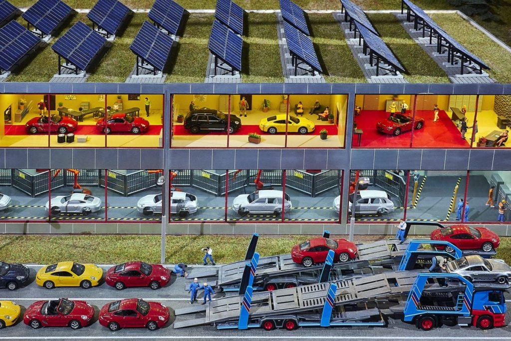 Porsche-Werkstatt (© Foto: Iconturn)