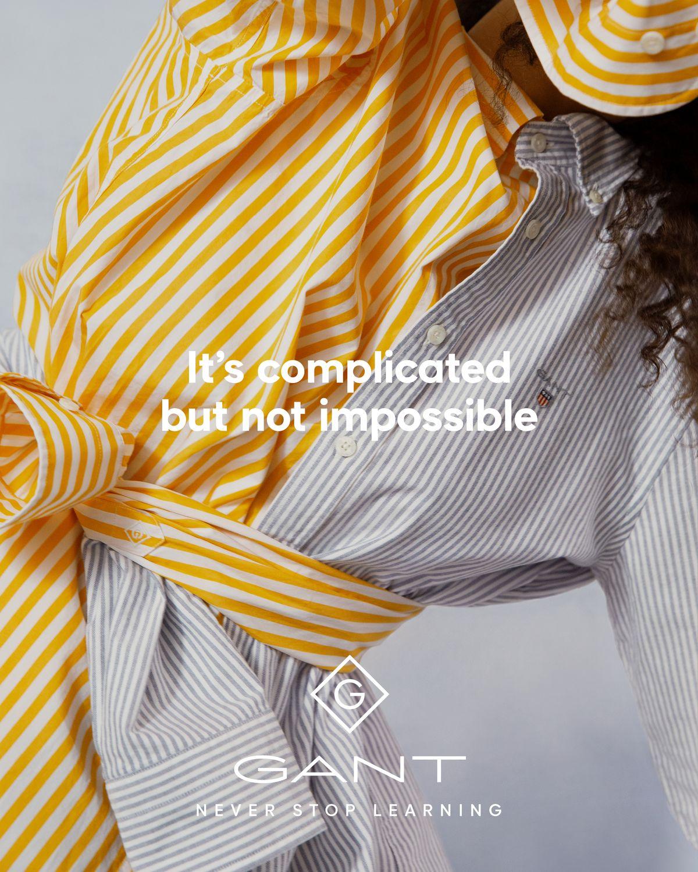 Gant startet eine Kampagne zur Nachhaltigkeit.