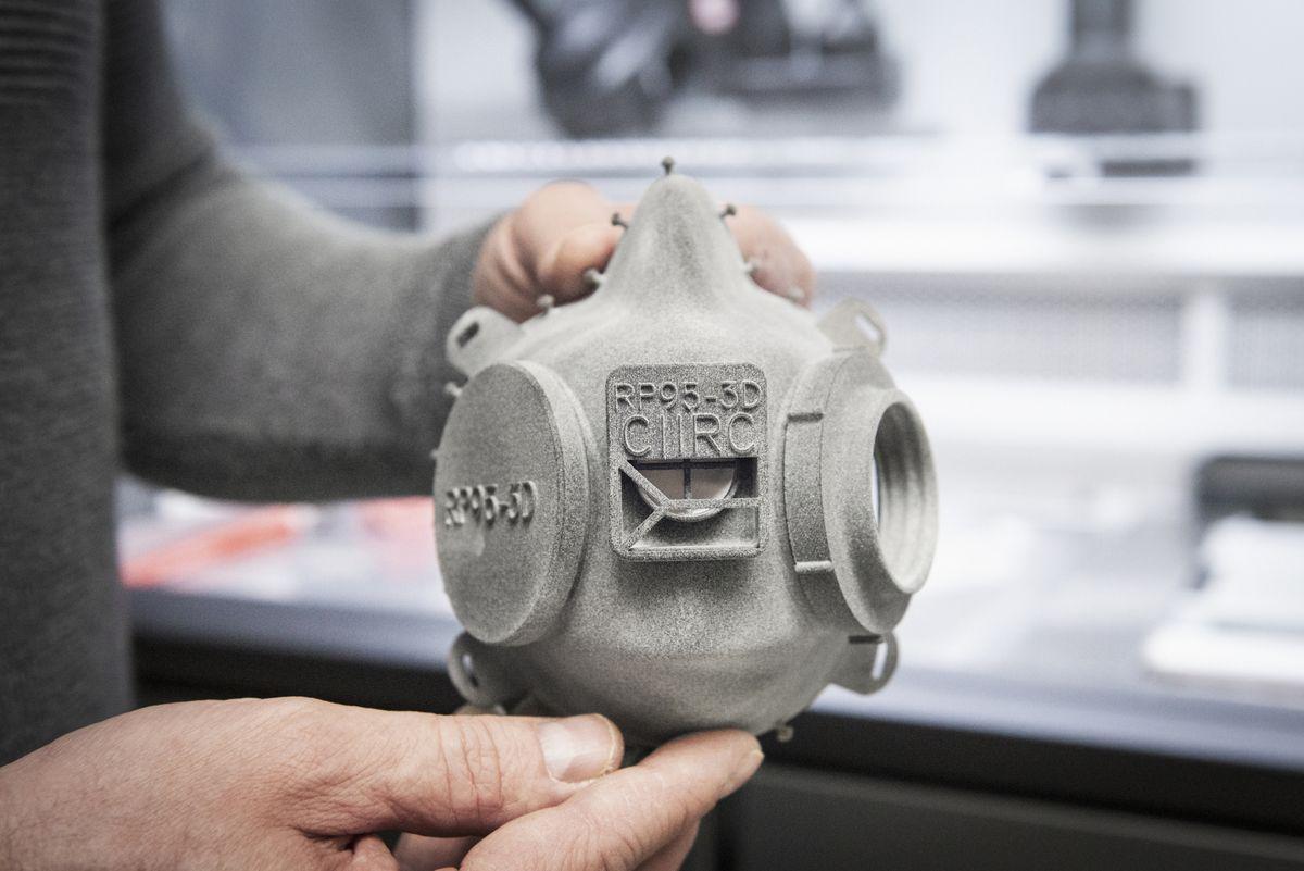 FFP3-Atemschutzmasken aus dem 3D-Drucker