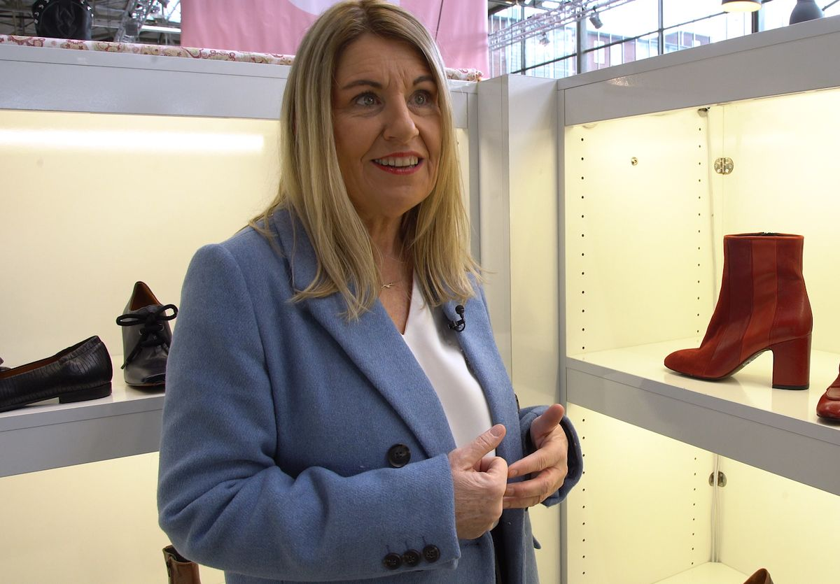 Schuh-Trendexpertin Claudia Schulz