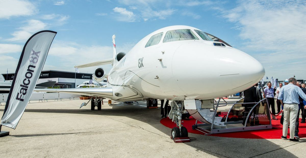 Falcon 8X (ddp images)