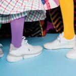 Knallige Sneaker von Floris van Bommel