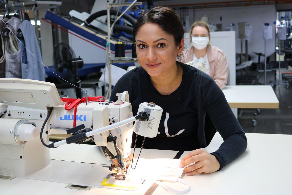 Northeim: Wilvorst stellt Produktion auf Mundschutzmasken um.