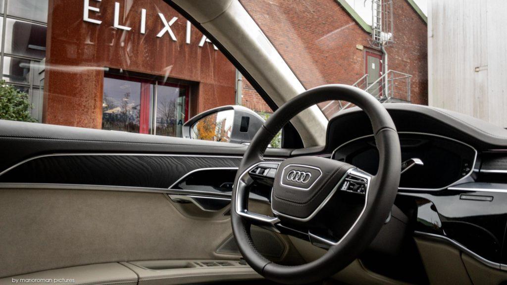 Innenraum eines Audi A8 L