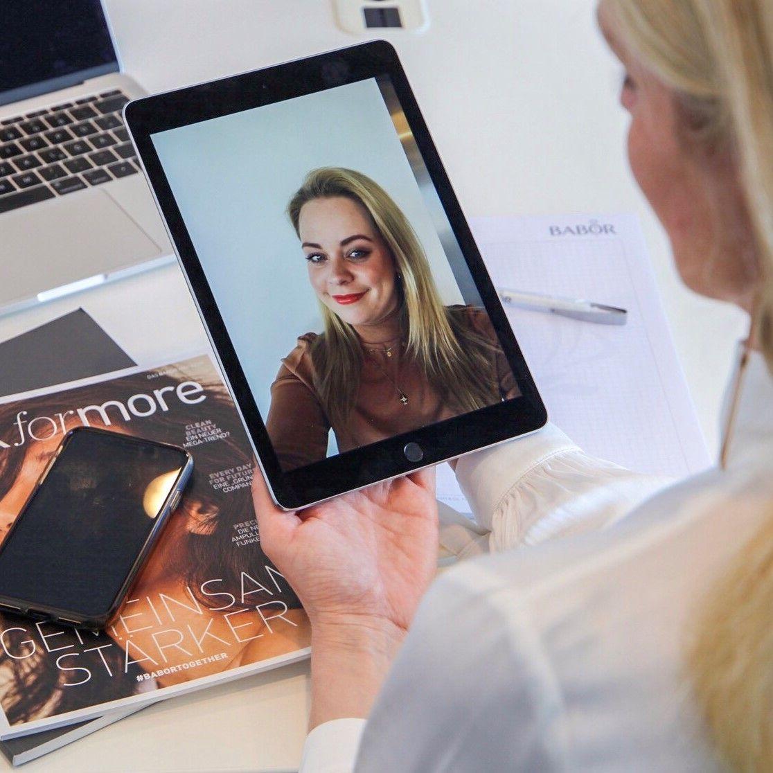 Babor bietet Beauty-Coaching per Chat an