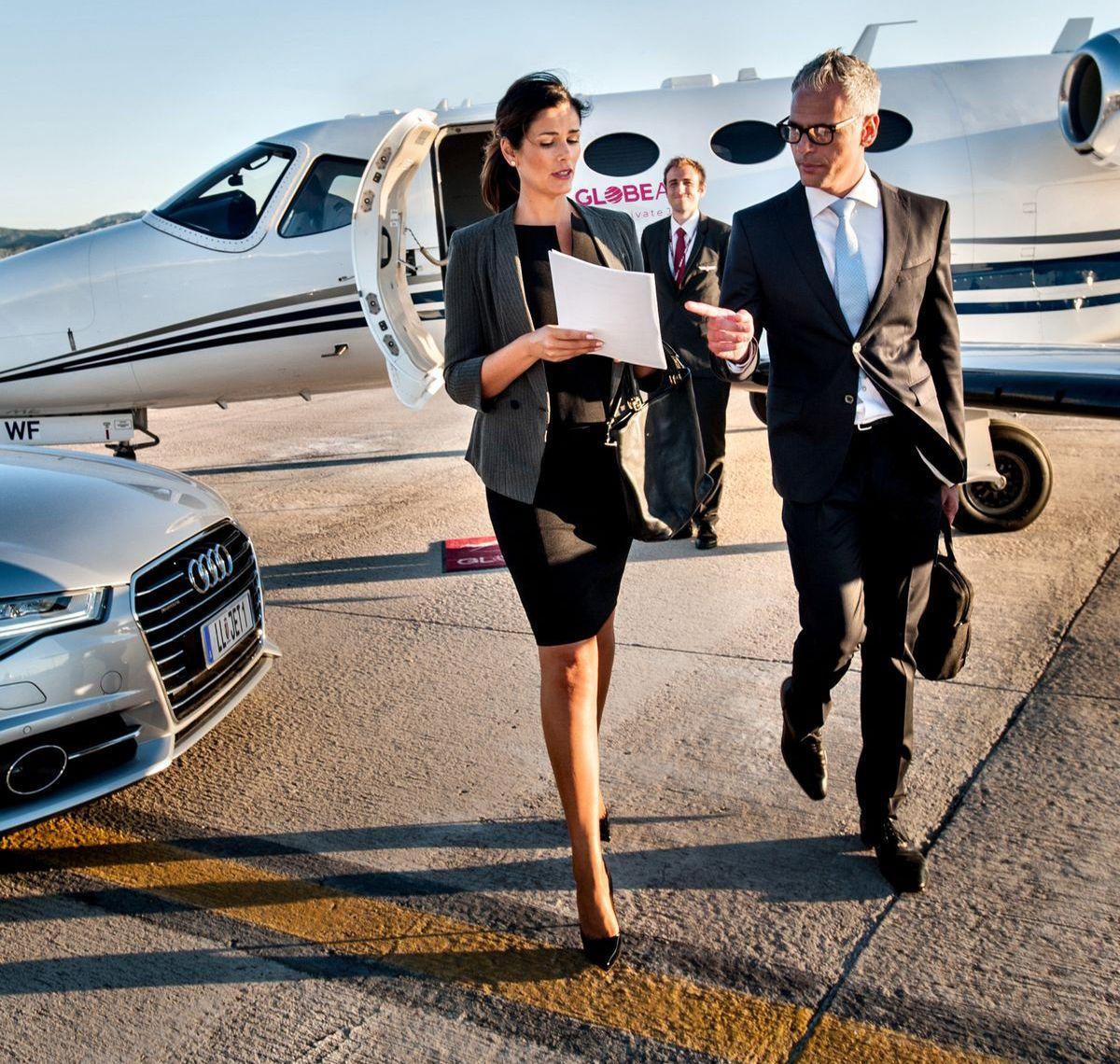 GlobeAir: Optimal für Geschäftsreisende.