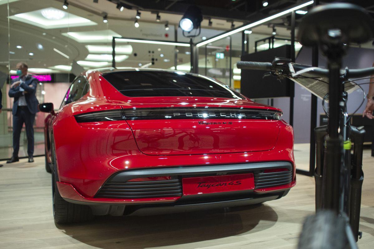 Sales-Pop-Up-Store von Porsche in Sindelfingen