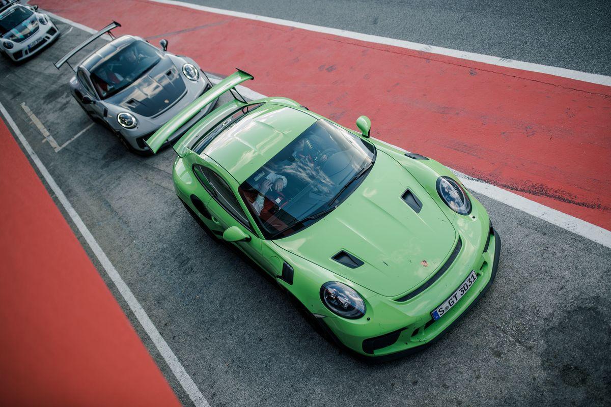 Porsche Open Pitlane