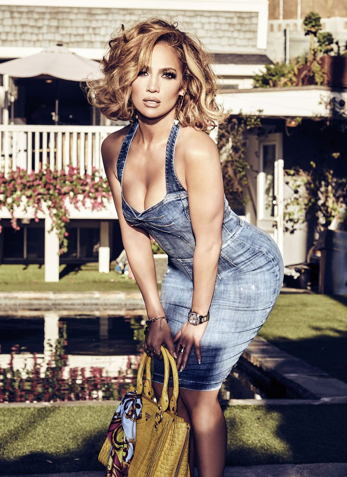 Jennifer Lopez, Guess, Frühjahr/Sommer 2020