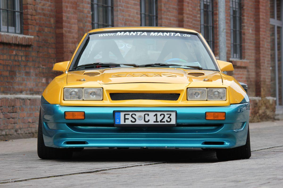 Opel Manta B Filmfahrzeug (1983)