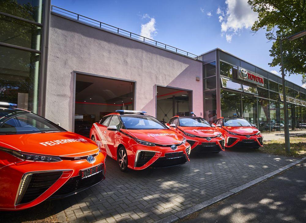 Toyota Mirai der Berliner Feuerwehr