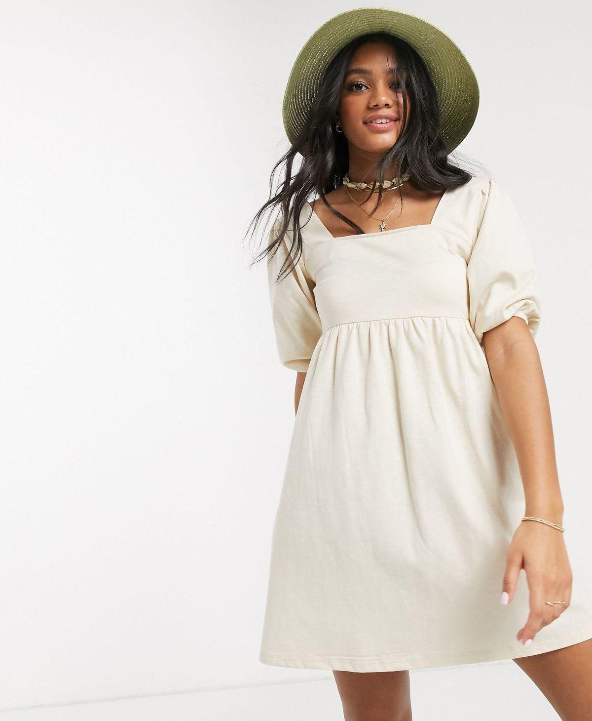 Sommerkleid mit Puff Sleeves