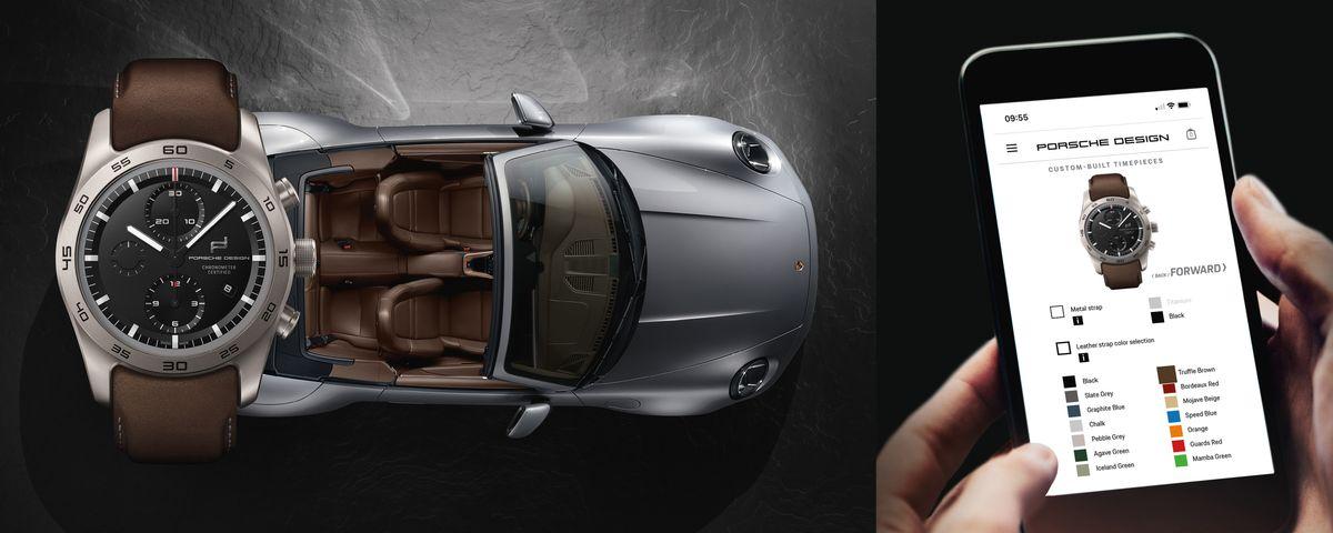 Porsche Design: Custom-Built Timepieces