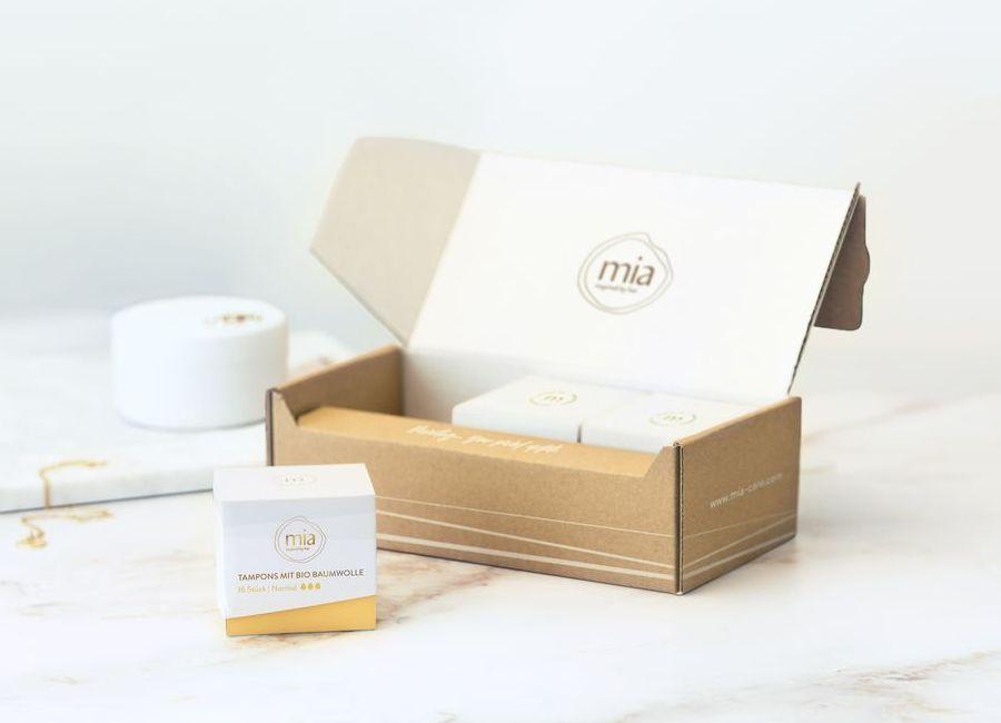 Mia: Periodenprodukte im Abo oder Einzelkauf