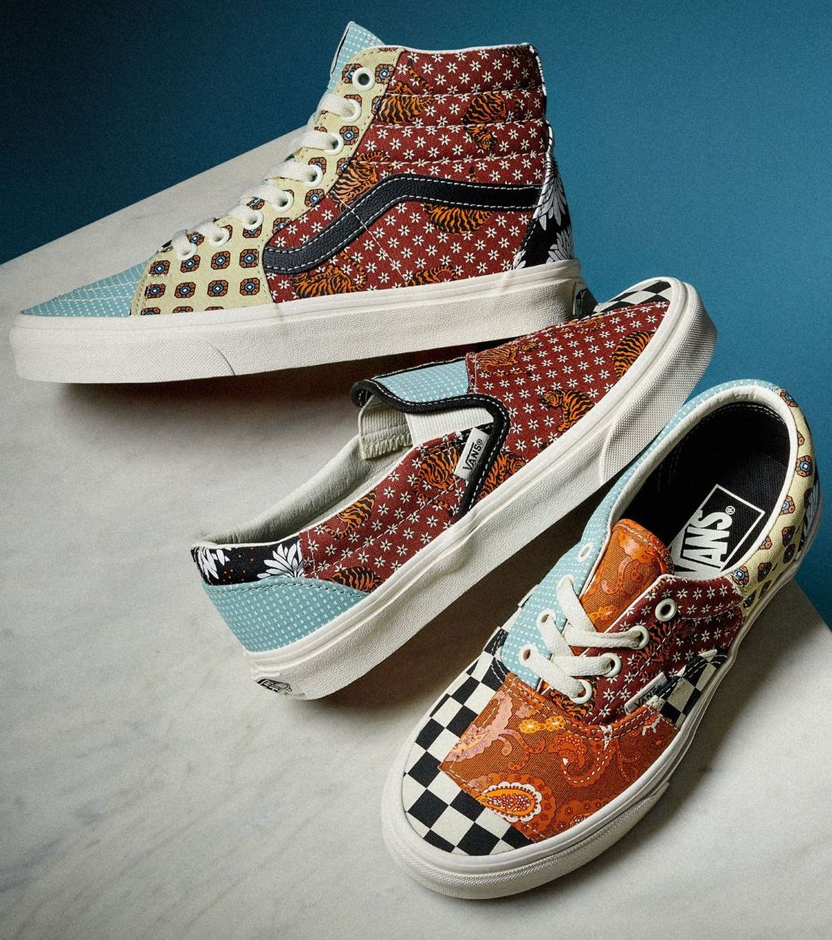 Tiger-Patchwork-Kollektion, Vans