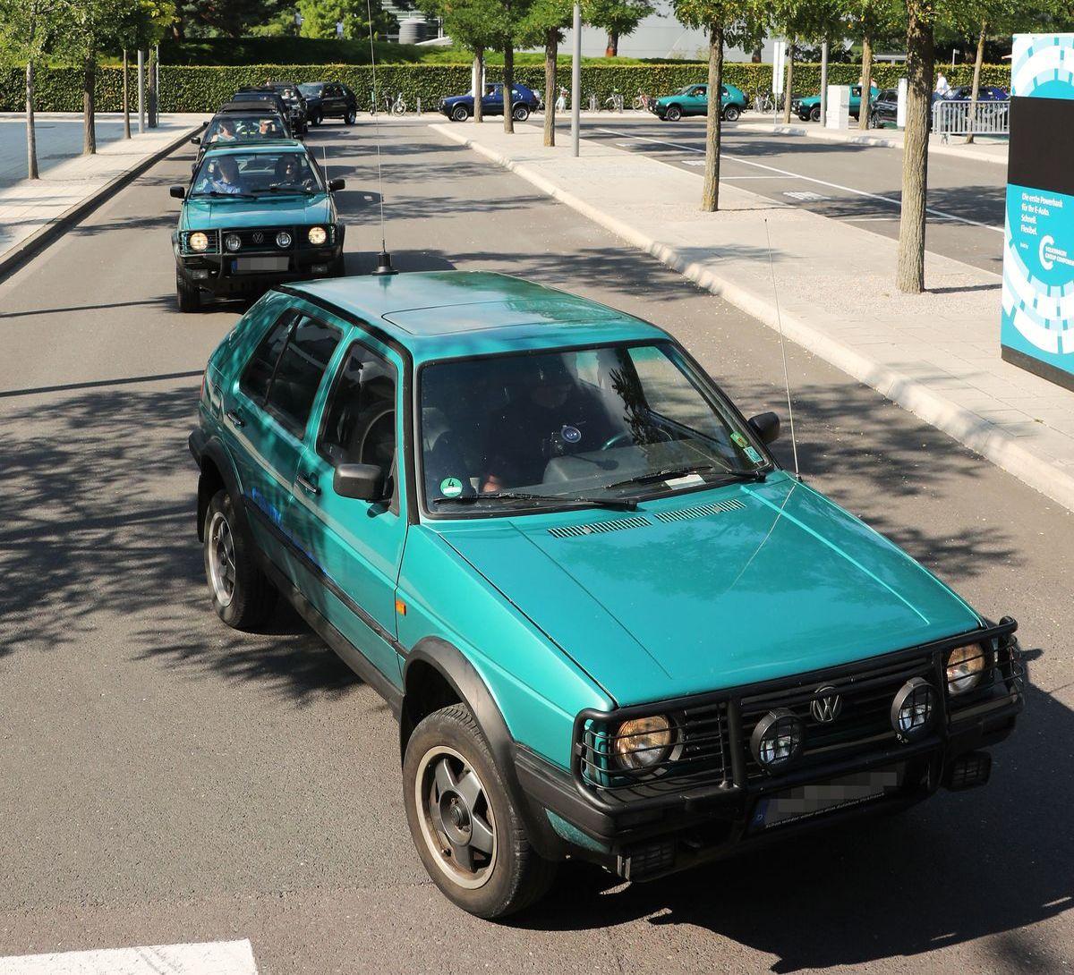 VW-Golf-Country-Treffen in der Autostadt