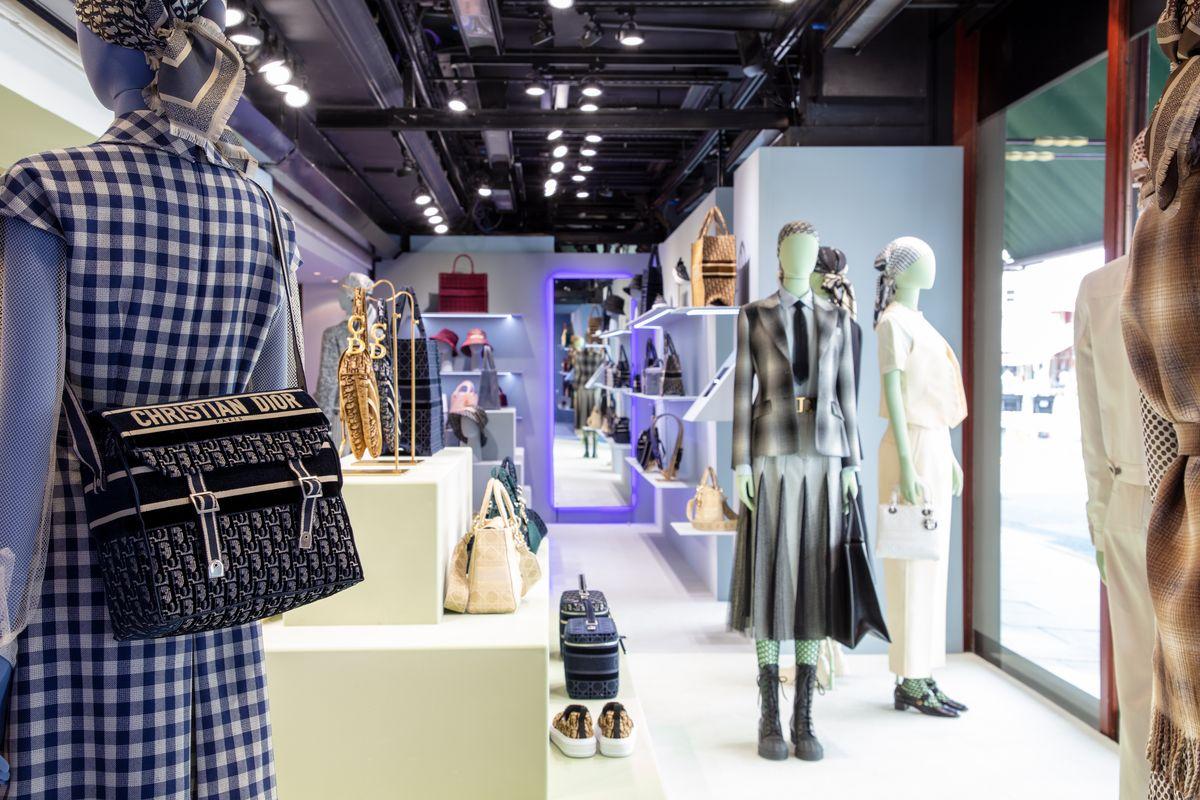 Pop-up-Store von Dior bei Harrods